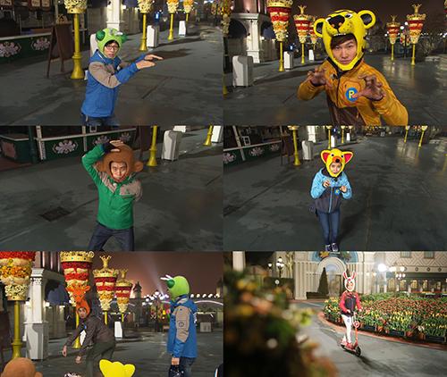 [런닝맨] 은지원&제시카의 런닝맨 깜짝 등장! 귀여운 동물들과 함께한 '동물의 왕' 레이스!
