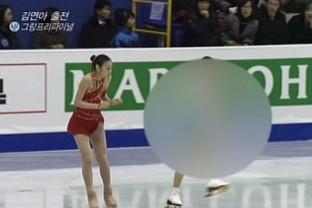 金妍兒による練習妨害発言