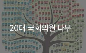 [마부작침] 20대 국회의원 나무