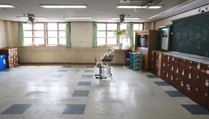 안산 단원고 - 빈 교실
