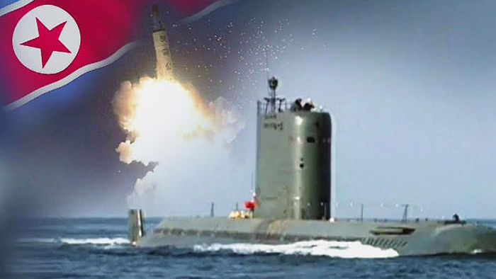 """북 """"SLBM 경의적 성과""""…핵탄두 시험 가능성"""