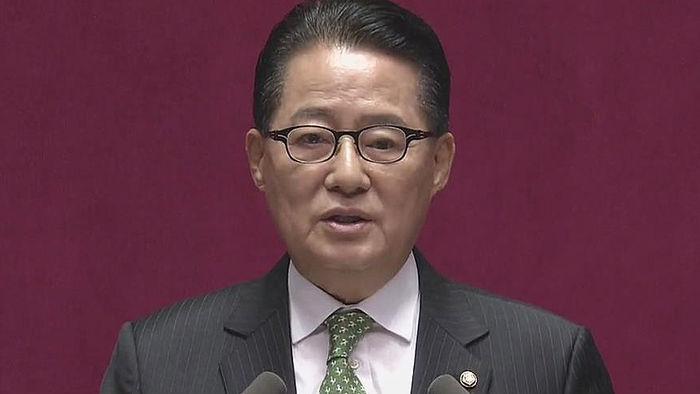 """기사 대표 이미지:박지원 """"우병우 동행명령 野 공조 당론으로 결정"""""""