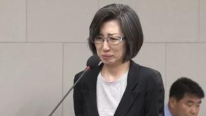 엎드려 눈물 쏟은 최은영…재산 문제에는 '단호'