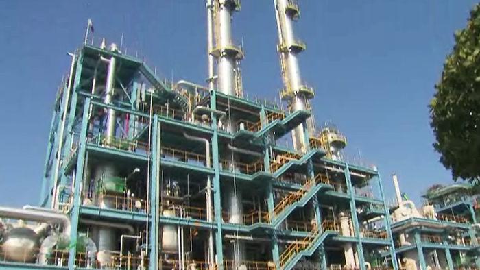구조조정 하는 철강업체