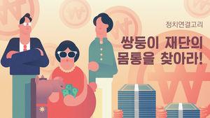 '쌍둥이 재단' 미르·K스포츠…한눈에 보는 관계도