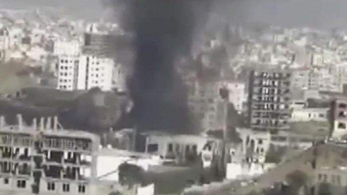 예멘 장례식장 공습