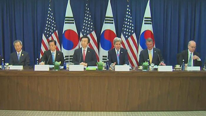 기사 대표 이미지:한미, 외교·국방 확장억제전략협의체 만든다