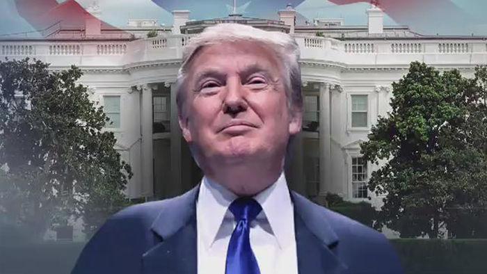 """기사 대표 이미지:아웃사이더 트럼프 공화당 접수완료 """"롬니 항복, 매케인 침묵"""""""