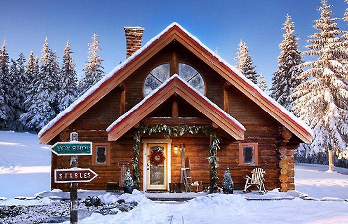 기사 대표 이미지:북극마을 산타의 집, 美부동산 매물 정보 사이트에 등장