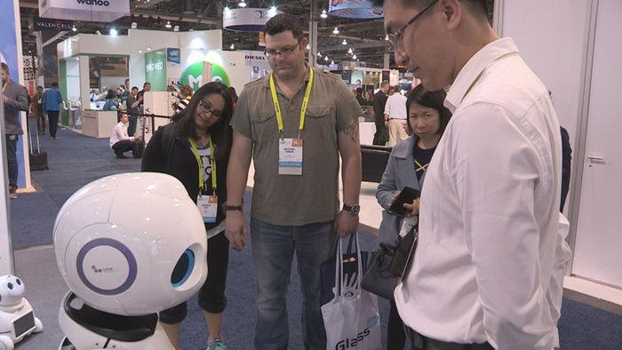 중국의 중소기업이 개발한 음성인식 로봇