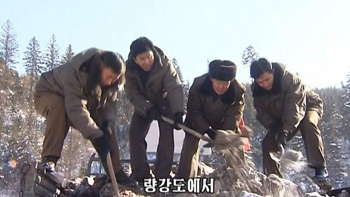 북한 인분전투