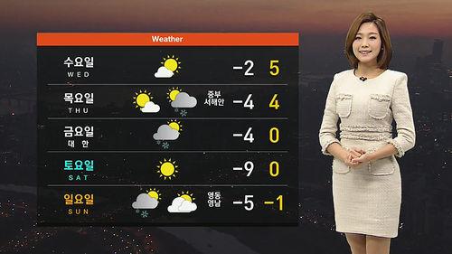 메인이미지:출근길 서울 영하 6.7도…낮에 기온 올라