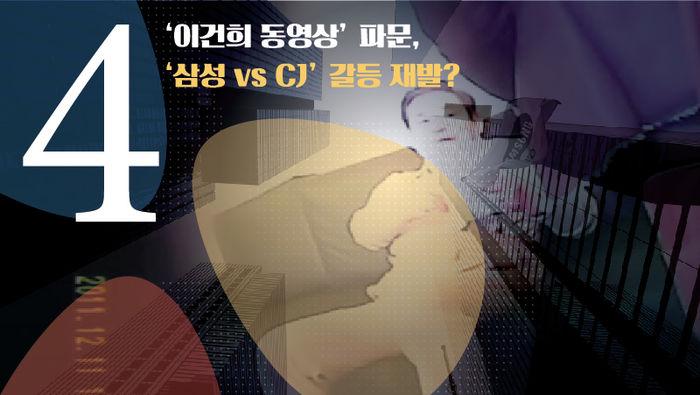 #(Round 4???) '이건희 동영상' 파문, '삼성 vs CJ' 갈등 재발?