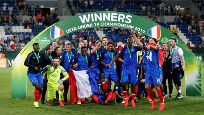 프랑스 U-20 유럽 선수권 우승