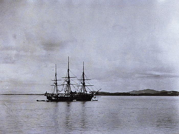아시아 함대의 기함 콜로라도 호