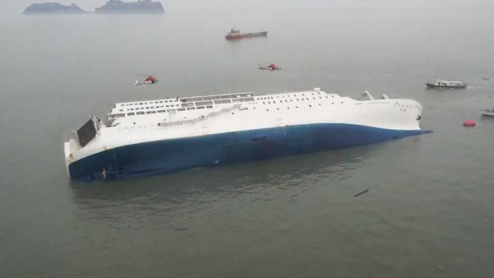 세월호 침몰