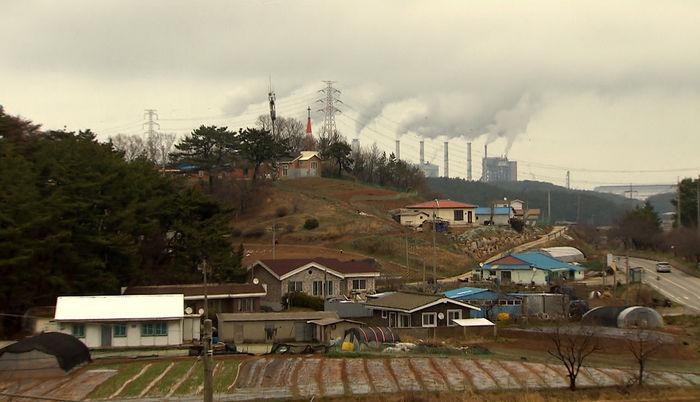 [취재파일] 석탄화력발전…전기와 미세먼지의 불편한 동거-1