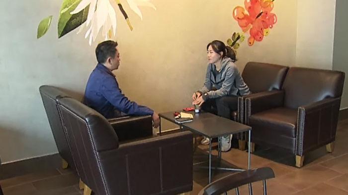 이상화 선수와의 인터뷰