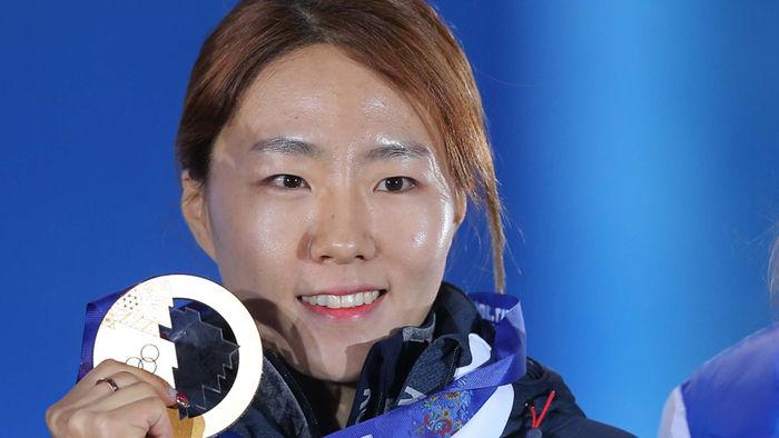 올림픽 3회 연속 금매달에 도전하는 이상화