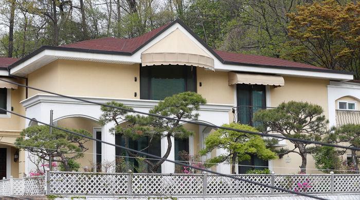 박 전 대통령 내곡동 새 집 (사진=연합뉴스)