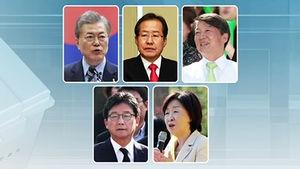 '안보'·'통합'·'미래'로 표심 공략…휴일 유세 펼친 후보들