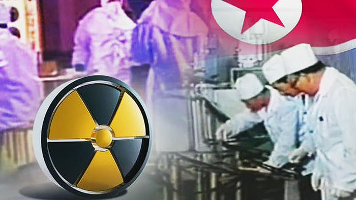 북한 핵개발 관련 이미지