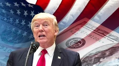 """메인이미지:트럼프 """"법인세, 역대 최대 규모 인하…기업들, 美 오라"""""""