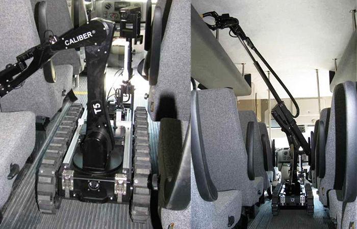 한국공항공사가 구매한 'EOD 로봇'과 유사한 장비