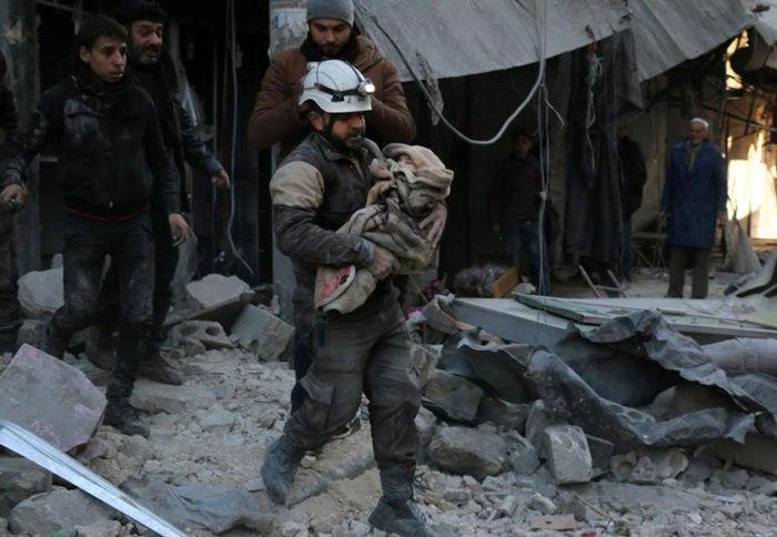 시리아 구조 : 사린가스와 통폭탄 걱정 없는 평화가 올까요?