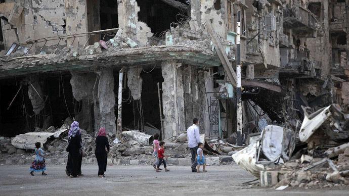시리아 폐허