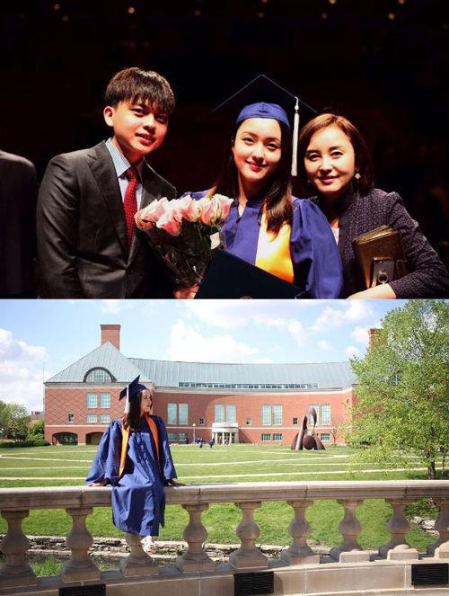 [스브스타] 조민기 딸 조윤경…성적 '상위 3%' 美 명문대 조기 졸업