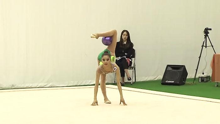 리듬체조 유망주 김채운 선수