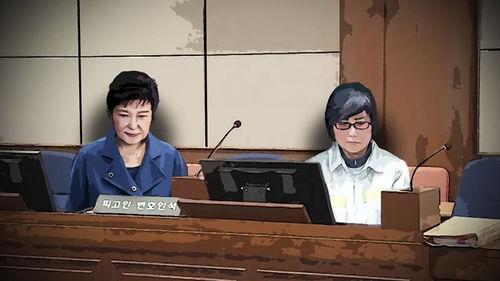메인이미지:박 전 대통령, 내일 피고인석에…법정 내 모습 공개한다