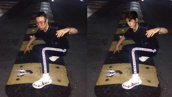[스브스타] '진짜는 모두가 알아보는 법'...비와이+박보검 '합성' 폭소