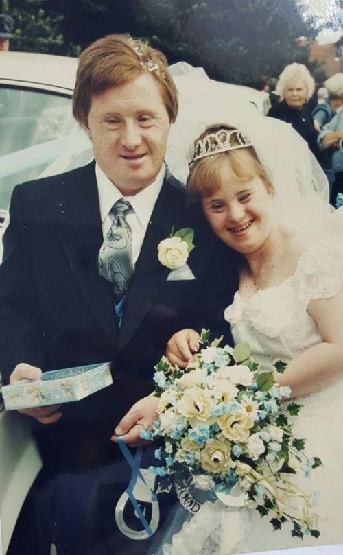 다운증후군 부부 메리앤과 토미