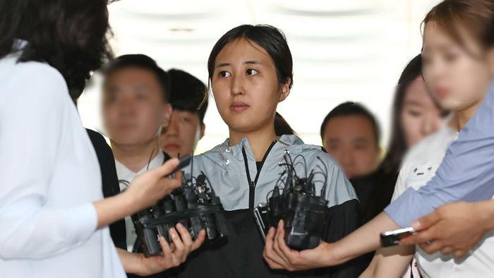 두 번째 영장실질심사 출석한 정유라 (사진=연합뉴스)