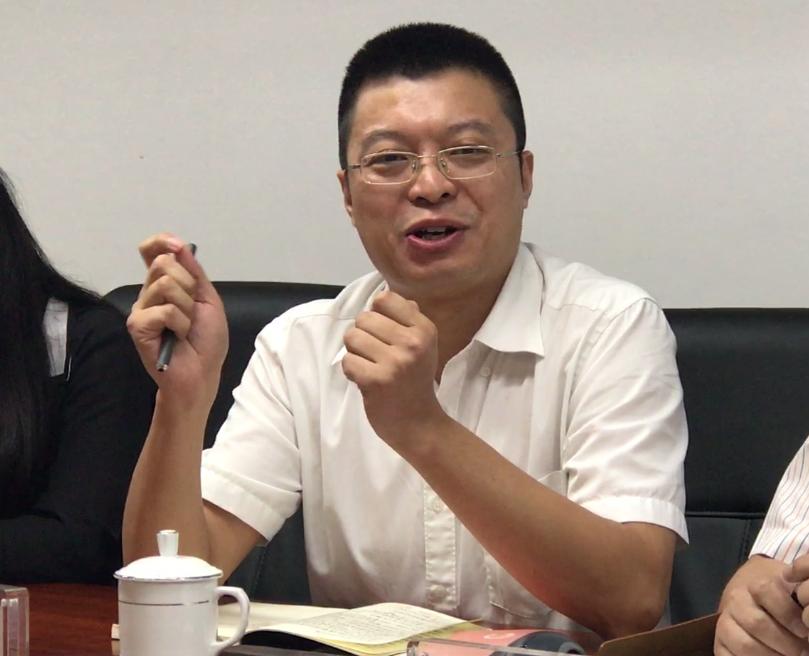 광둥지역 씽크탱크로 꼽히는 CDI 소속 리우구어홍 씨
