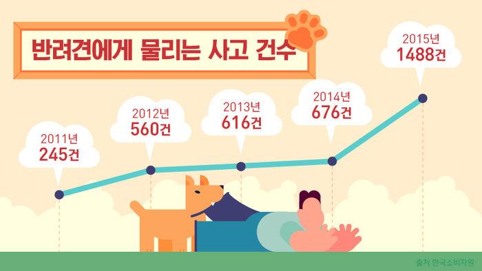 <그래픽> 2011년 245건, 2012년 560건, 2013년 616건, 2014년 676건으로 증가 추세를 보였습니다. 특히 2015년엔 1,488건을 기록했습니다.