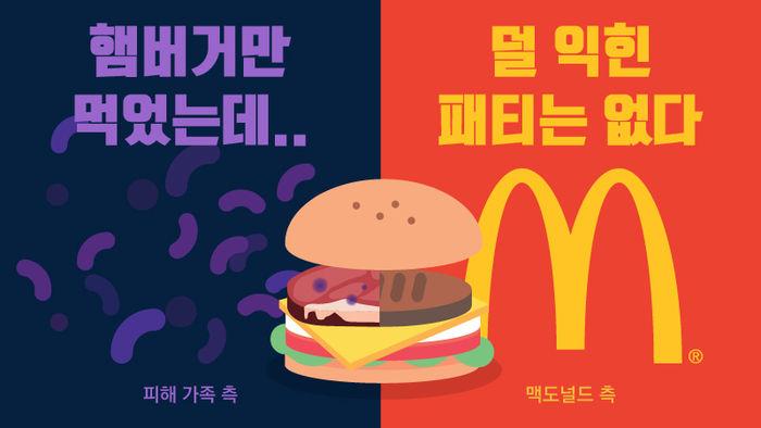 """""""햄버거만 먹었는데.."""" vs """"덜 익힌 패티는 없다"""""""