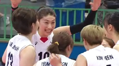 메인이미지:김연경 대활약…그랑프리 여자배구 6연승 결선 진출