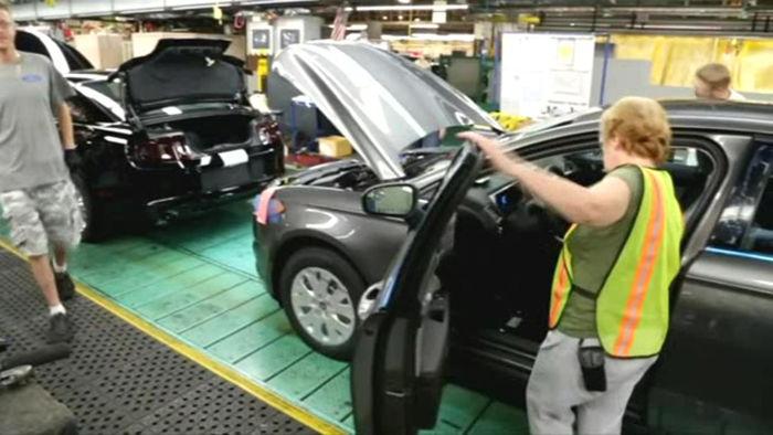 미국 자동차 산업
