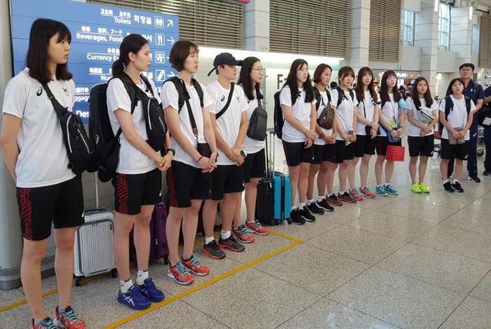 한국 여자배구 대표팀 (사진=연합뉴스)