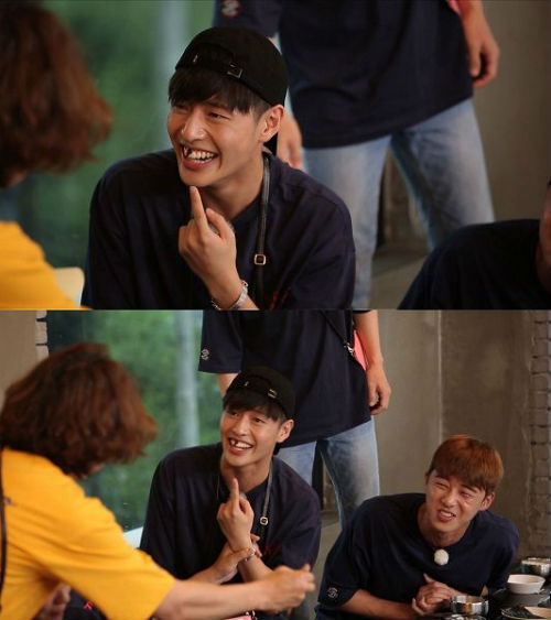 [SBS Star] Kang Ha-neul Puts a Piece of Seaweed and Smiles, the Next Rising Star?
