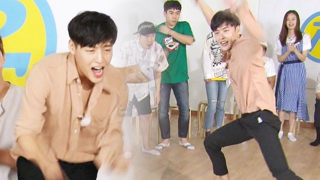 기사 대표 이미지:[SBS Star] Lee Kwang-soos Hip Dance VS. Kang Ha-neuls Knee-Sliding Dance