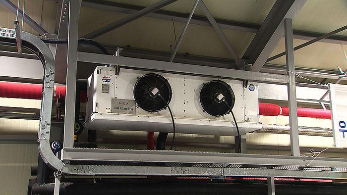 아이스 스타트 훈련장의 냉각장치