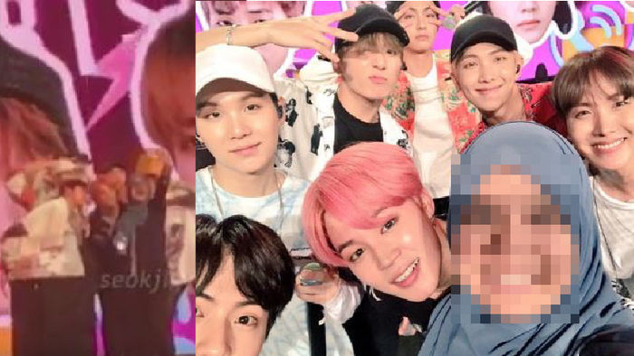 기사 대표 이미지:[SBS Star] VIDEO: Gentle-Idol BTS Shows Respect Toward Muslim Fan