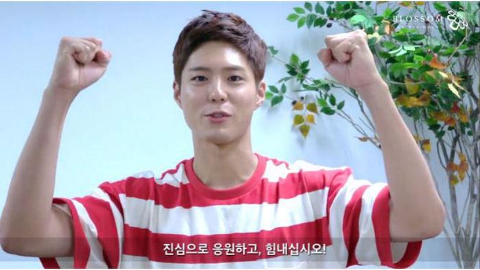 [SBS Star] Park Bo-gum Chosen to do a 'Firefighter Go' Challenge