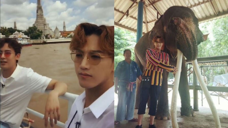 기사 대표 이미지:[SBS Star] VIDEO: 2PM Jun.K and Nichkhun Enjoy Vacation in Thailand