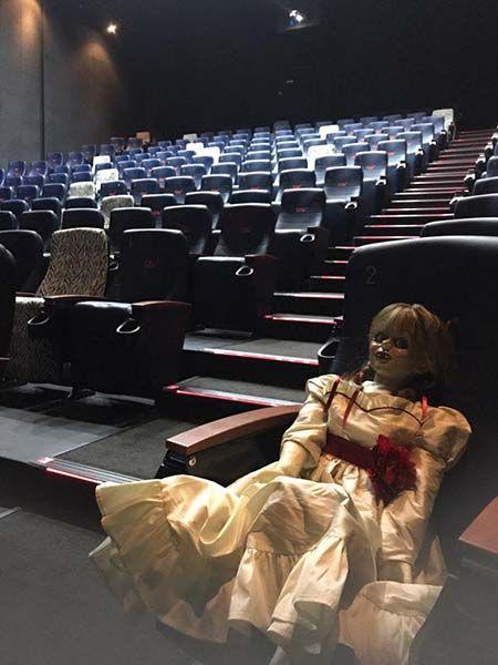 영화보다 더 오싹했던 '애나벨' 시사회 현장