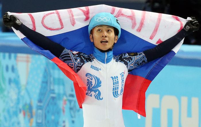 [취재파일] '빅토르 안' 안현수가 어깨에 새긴 두 개의 국기5